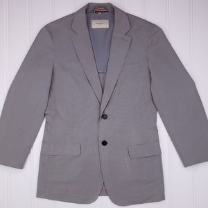 Burberry London Sport Coat Sz XL Gray Cotton Blend